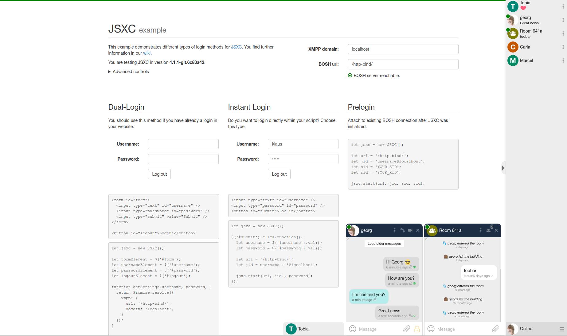 Screenshot light theme