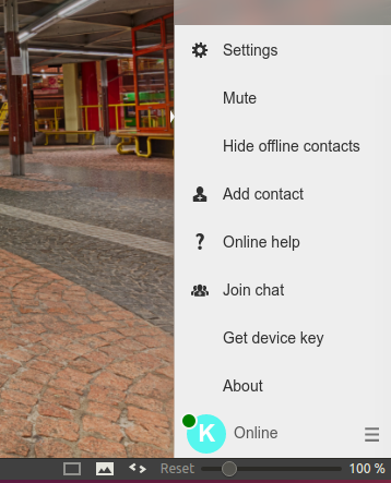 Screenshot contact addition